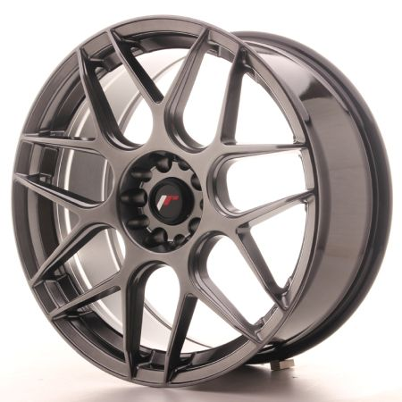 ΖΑΝΤΕΣ Japan Racing JR18 19x8,5 ET35 5x100/120 Hiper Blac