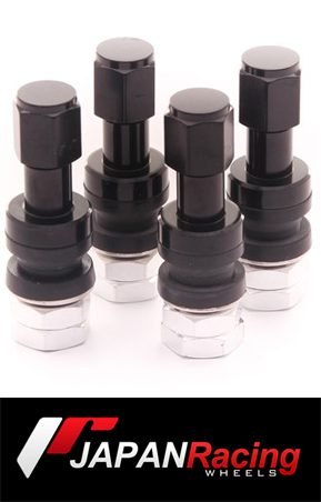 ΑΞΕΣΟΥΑΡ SET OF ALUMINUM AIR VALVES JR V2 - BLACK