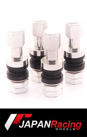ΑΞΕΣΟΥΑΡ  SET OF ALUMINUM AIR VALVES JR V2 - SILVER