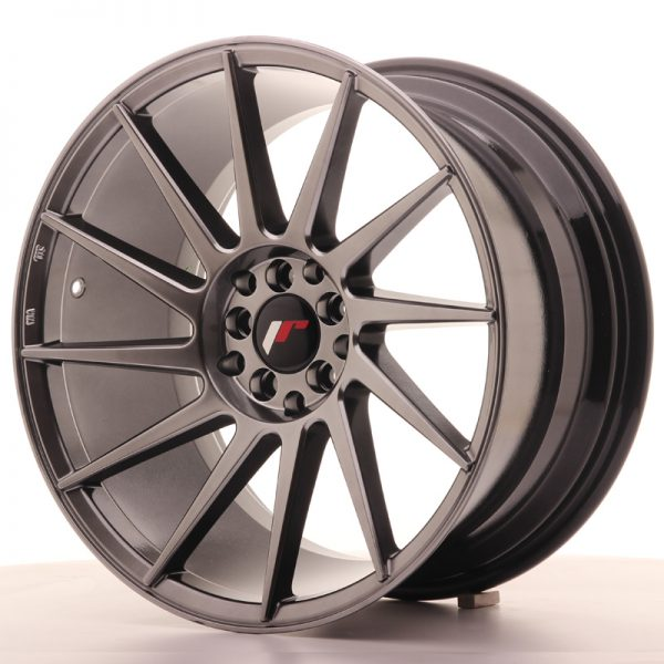 ΖΑΝΤΕΣ Japan Racing JR22 18x9,5 ET35 5x100/120 Hiper Blac