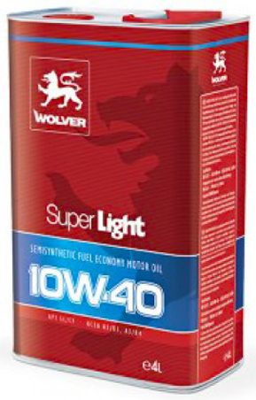 ΛΙΠΑΝΤΙΚΑ WOLVER SuperLight 10W40 4L